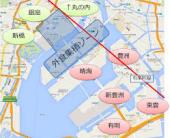 湾岸地域地図