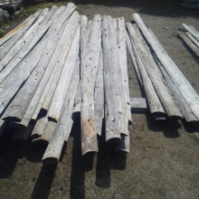 雪囲い材木